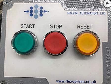 Flexopress KDO K2 Flexographic Printing Press hq press image control panel switches