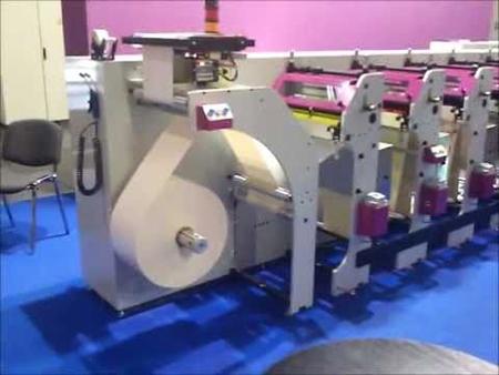 Flexopress KDO K2 Flexographic Printing Press hq press image